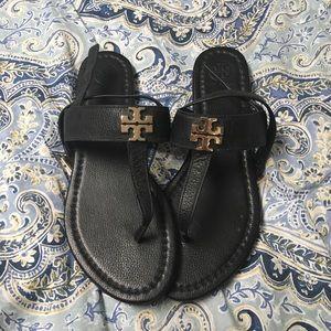 Tory Burch black sandal
